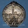 Coins Strasbourg. Congrès catholique. 1905. Médaille étain argenté