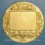 Coins Strasbourg. Exposition coloniale, agricole et industrielle, 1924. Médaille bronze doré. 50 mm