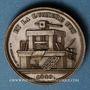 Coins Strasbourg. Gutenberg - 4e centenaire de l'invention de l'imprimerie. 1840. Bronze. 25 mm