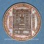 Coins Strasbourg. J. L. Erlenbach (lingerie, confection). Médaille cuivre rouge. 29,16 mm