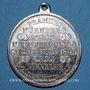 Coins Strasbourg. J. L. Erlenbach (lingerie, confection). Médaille. Zinc nickelé. Avec anneau. 29,2 mm