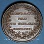 Coins Strasbourg. Jubilé du rattachement de Strasbourg à la France. 1781. Médaille bronze