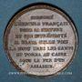 Coins Strasbourg. Le général Kléber (1753-1800). Médaille cuivre. 32,4 mm