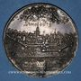 Coins Strasbourg. Les Corporations, 1628.  Médaille argent. 44,21 mm. Gravée par J.G. Lutz et F. Fecher