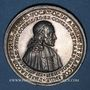Coins Strasbourg. Philippe-Jacques Spener (1635-1705). 1698. Médaille argent. 43,2 mm