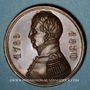 Coins Strasbourg. Rétablissement de la Garde Nationale à Strasbourg. 1830. Bronze. 27,6 mm.