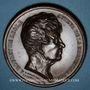 Coins Strasbourg. Rouget de Lisle. 1833. Médaille bronze. 51,45 mm. Gravée par R. Rogat