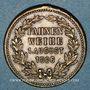 Coins Strasbourg. Société masculine de chant Liedertafel - Bénédiction du drapeau. 1886. Médaille laiton