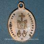 Coins Thierenbach. Souvenir de Notre Dame (19e - début 20e). Laiton. Ovale, avec anneau. 18,90 x 26,86 mm