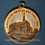 Coins Trois Epis. Sanctuaire de Notre Dame des Trois Epis (19e). Médaille bronze