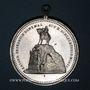 Coins Woerth. Inauguration du monument commémorant les combats de 1870-1871. 1895. Médaille aluminium