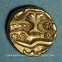 Coins Ambiani. Région d'Amiens. 1/4 statère à l'arbre, vers 60 - 30/25 av. J-C.