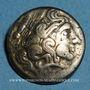 Coins Calètes (pays de Caux). Hémistatère à la roue, 2e siècle av J-C