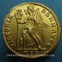 Coins Constant (337-350). Solidus frappé à Thessalonique, 5e officine (337-340). Inédit !