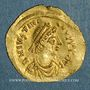 Coins Empire byzantin. Justinien I (527-565). Trémissis. Constantinople, 527-565