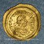 Coins Empire byzantin. Tibère II Constantin (578-582). Trémissis. Constantinople, 1ère officine, 578-582