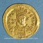 Coins Empire romain d'orient. Léon I (457-474). Solidus. Constantinople, 3e officine, 462 ou 466