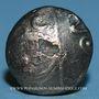 Coins Médiomatrices (région de Metz). Statère d'or bas du type de Morville, vers 60 - 30/25 av. J-C
