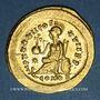 Coins Pulchérie, soeur de Théodose II (+ 453). Solidus. Constantinople, 441-450.