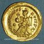 Coins Théodose II (408-450). Solidus. Constantinople, 408-450