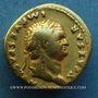 Coins Titus, césar sous Vespasien (69-79). Aureus. Rome, 76. R/: COS V. Vache à droite