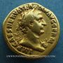 Coins Trajan (98-117). Aureus. Rome, 100. R/: Statue d'Hercule nu. Inédit ?