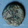 Coins Les Vandales. Monnayage indéterminé au nom de Justinien I (527-565). Nummus bronze