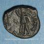 Coins Les Vandales. Trasamund (496-523). Nummus bronze