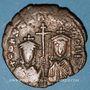 Coins Constantin VII (913-959) et sa mère Zoé. Follis. Constantinople, 913-919