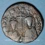 Coins Constantin VII (913-959) et sa mère Zoé. Follis. Constantinople, 914-919