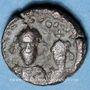Coins Emp. byzantin. Héraclius (610-641) et Héraclius Constantin (613-631) 12 noummia. Alexandrie, 613-618