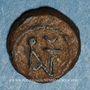 Coins Empire byzantin. Anastase (491-518). Nummus. Constantinople, 491-498