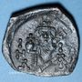 Coins Empire byzantin. Constant II (641-668). Follis. Syracuse, 11e indiction, 659-668