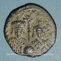 Coins Empire byzantin. Constantin VII (913-959) et Romain II (945-959). Follis. Constantinople, 945-959