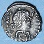 Coins Empire byzantin. Héraclius (610-641). 1/4 silique. Ravenne, 610-641