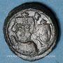 Coins Empire byzantin. Héraclius (610-641). Décanoummion. Catane, 625-626