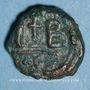 Coins Empire byzantin. Héraclius (610-641) et Héraclius Constantin. Dodécanoummion. Alexandrie, 625-629