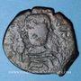 Coins Empire byzantin. Héraclius (610-641). Follis. Nicomède, 1ère officine, 611-612