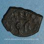 Coins Empire byzantin. Héraclius II (641). Follis. Syracuse