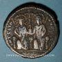 Coins Empire byzantin. Justin II (565-578). Follis. Théoupolis (Antioche), 3e officine, 575-576