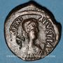 Coins Empire byzantin. Justinien I (527-565). 1/2 follis. Constantinople, 3e officine