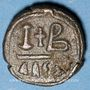 Coins Empire byzantin. Justinien I (527-565). 12 noummia. Alexandrie, 527-565