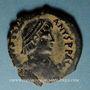 Coins Empire byzantin. Justinien I (527-565). Décanoummion. Théoupolis (Antioche), 2e officine, 527-528