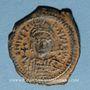 Coins Empire byzantin. Justinien I (527-565). Décanoummion. Théoupolis (Antioche), 550-551