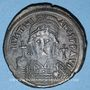 Coins Empire byzantin. Justinien I (527-565). Follis. Constantinople, 2e officine, 539-540