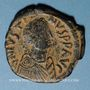 Coins Empire byzantin. Justinien I (527-565). Follis. Constantinople, 3e officine, 527-538