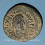 Coins Empire byzantin. Justinien I (527-565). Follis. Constantinople, 5e officine, 527-538