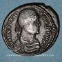 Coins Empire byzantin. Justinien I (527-565). Follis. Rome, 538-544