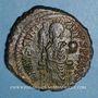 Coins Empire byzantin. Justinien I (527-565). Follis. Théoupolis (Antioche), 3e officine, 529-533