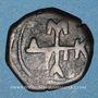 Coins Empire byzantin. Manuel I Comnène (1143-1180). 1/2 tétartéron. Atelier grec incertain